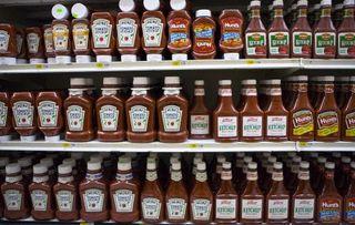 Low sodium Heinz ketchup